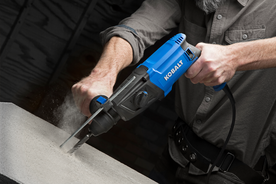 Kobalt_In-Use_Hammer-Drill